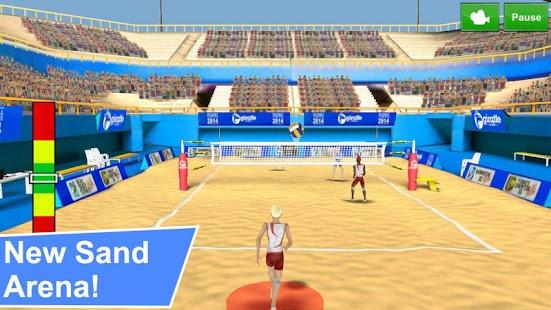 بازی اندروید قهرمانان والیبال - Volleyball Champions 3D