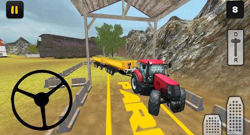 بازی اندروید شبیه ساز سه بعدی تراکتور - Tractor Simulator 3D: Silage Extreme
