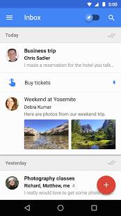 نرم افزار اندروید صندوق پیام جیمیل - Inbox by Gmail