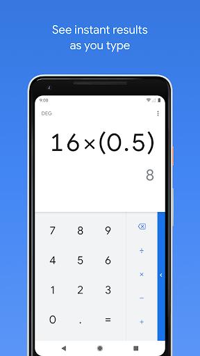 نرم افزار اندروید محاسبه گر - Calculator