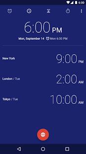 نرم افزار اندروید ساعت - Clock