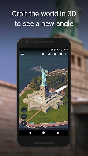 نرم افزار اندروید گوگل ارث - Google Earth