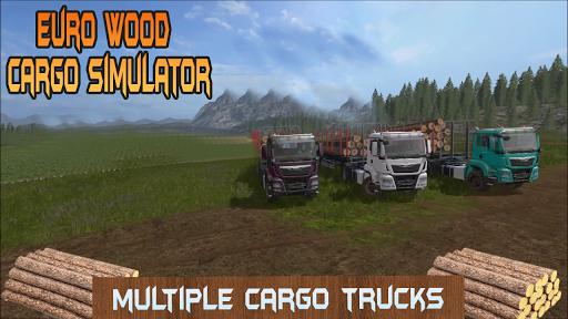بازی اندروید شبیه ساز کامیون اروپایی حمل چوب - Euro Wood Cargo Simulator 3D