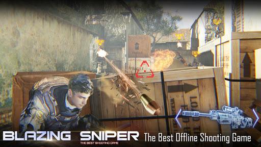 بازی اندروید تک تیرانداز مخفی - شلیک شکارچی نخبه - Blazing Sniper - Elite Killer Shoot Hunter Strike