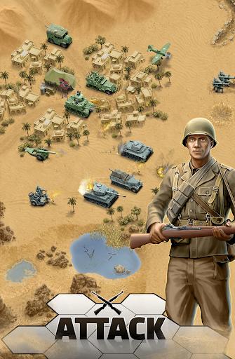 بازی اندروید کویر مرگبار 1943 - 1943 Deadly Desert