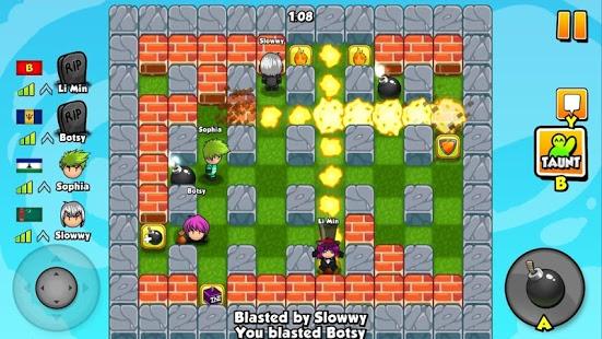 بازی اندروید دوستان بمب افکن - Bomber Friends