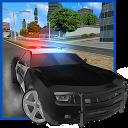 رانندگی ماشین پلیس