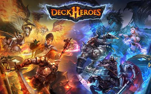 بازی اندروید قهرمانان عرشه - میراث - Deck Heroes: Legacy