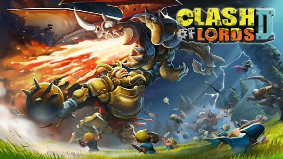 بازی اندروید کلش آف لردز 2 - Clash of Lords 2