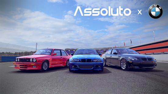 بازی اندروید مسابقه اتومبیل رانی - Assoluto Racing