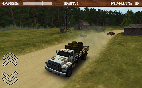 بازی اندروید راننده کامیون جاده خاکی - Dirt Road Trucker 3D