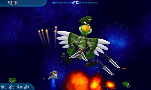 بازی اندروید مرغ مهاجم 5 - Chicken Invaders 5