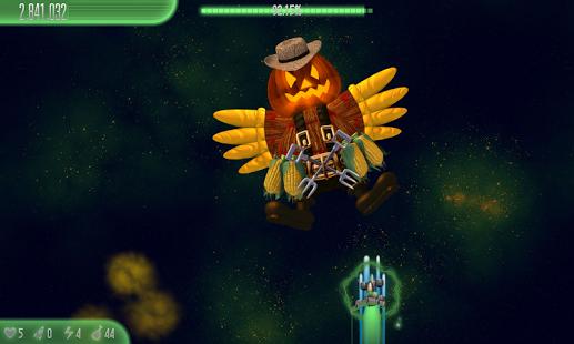 بازی اندروید مرغ مهاجرم 5 - هالووین - Chicken Invaders 5 Halloween