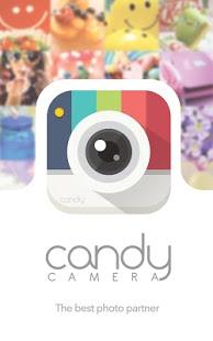 نرم افزار اندروید دوربین سلفی کندی - Candy Camera for Selfie