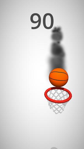 بازی اندروید سبد بسکتبال - Dunk Hoop