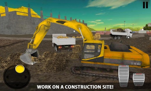بازی اندروید شبیه ساز راننده کامیون کمپرسی - Dumper Truck Driver Simulator