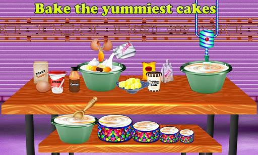 بازی اندروید پخت کیک جشن تولد - Birthday Party Cake Factory