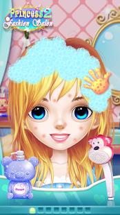 بازی اندروید سالن آرایش پرنسس 2 - Princess Makeup Salon 2