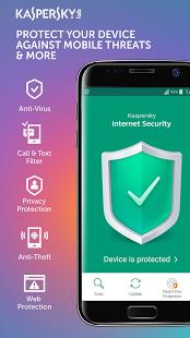 نرم افزار اندروید آنتی ویروس کسپراسکی - Kaspersky Antivirus & Security