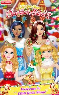 بازی اندروید سالن کریسمس 2 - Christmas Salon 2