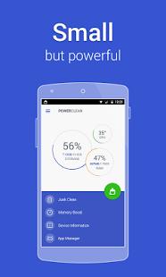نرم افزار اندروید پاور کلین - بهینه ساز - Power Clean - Optimize Cleaner