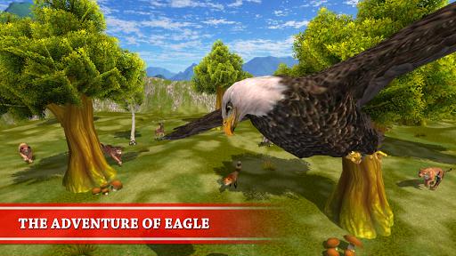 بازی اندروید زندگی عقاب وحشی - Wild Eagle Survival Simulator