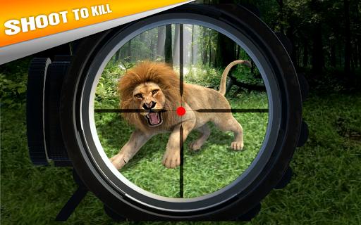 بازی اندروید شکار حیوانات - شبیه ساز رانندگی جیپ - Animal Hunting:Jeep Drive Simulator