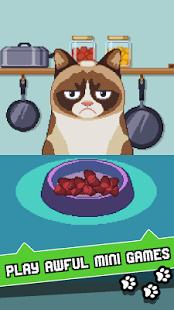 بازی اندروید گربه بداخلاق - Grumpy Cat's Worst Game Ever