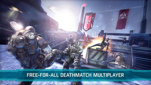 بازی اندروید منطقه مرگبار تیرانداز - SHADOWGUN: DEADZONE
