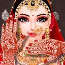 آرایش عروسی هند قسمت 1