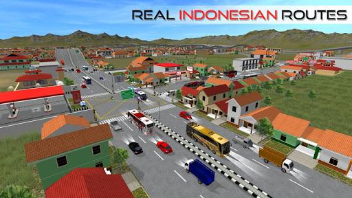 بازی اندروید اتوبوس اندونزی - Bus Simulator Indonesia