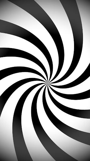 بازی اندروید خطای دید - افکت حرکت اجسام - Optical Illusions - Spiral Dizzy Moving Effect