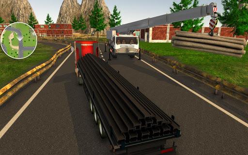 بازی اندروید راننده کامیون واقعی - Dr. Truck Driver : Real Truck Simulator 3D