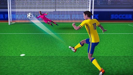 بازی اندروید قهرمانی ضربه آزاد فوتبال 17 - Free Kick Football Champion 17