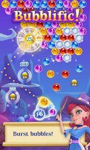 بازی اندروید حماسه حباب جادوگر - Bubble Witch 2 Saga