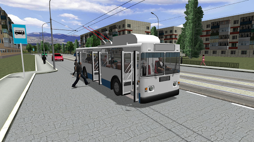 بازی اندروید شبیه ساز اتوبوس 2018 - Trolleybus Simulator 2018