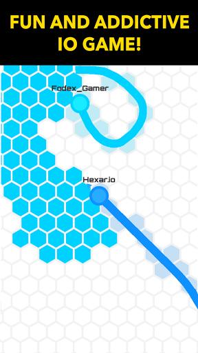 بازی اندروید هکسار - Hexar.io