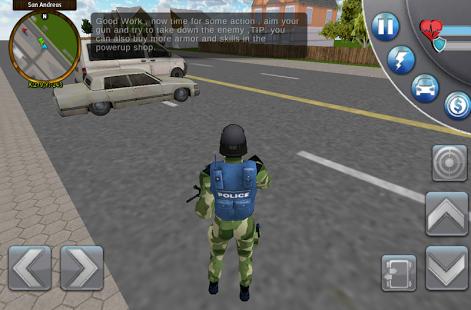 بازی اندروید شهر جنایت سان آندرس - San Andreas Crime City 3D