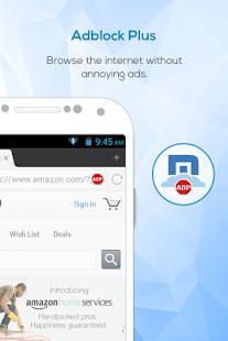 نرم افزار اندروید مکستون مرورگر سریع - Maxthon Web Browser - Fast