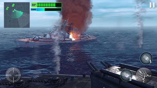 بازی اندروید شکارچی خاموش جنگی - شبیه سازی نبرد دریایی - Silent Warship Hunter- Sea Battle Simulation Game