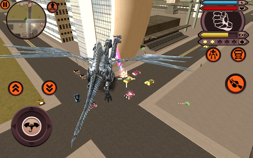 بازی اندروید ربات اژدها - Dragon Robot