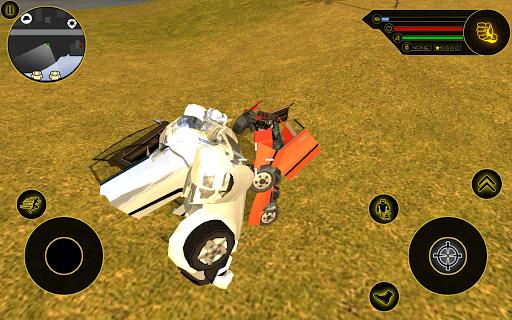 بازی اندروید ماشین ربات - Robot Car