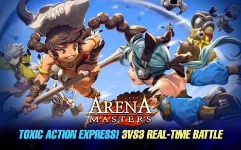 بازی اندروید آرنا مسترز - Arena Masters