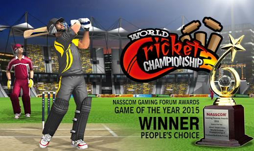 بازی اندروید قهرمان جهانی کریکت 2 - World Cricket Championship 2