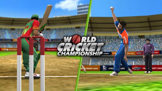 بازی اندروید قهرمان جهانی کریکت - World Cricket Championship  Lt