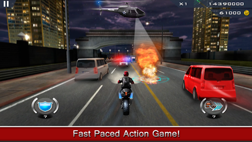 بازی اندروید فرار موتور سوار - Dhoom:3 The Game