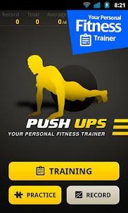 نرم افزار اندروید تمرین شنا - Push Ups Workout