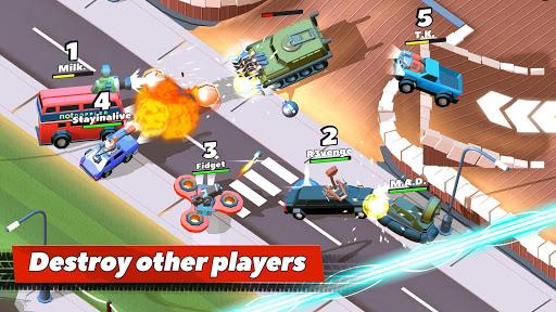 بازی اندروید تصادف ماشین - Crash of Cars