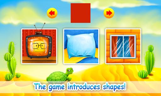 بازی اندروید یادگیری اشکال کودکان - Learn Shapes for Kids, Toddlers - Educational Game