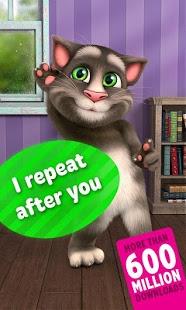 نرم افزار اندروید تام گربه سخنگو 2 - Talking Tom Cat 2